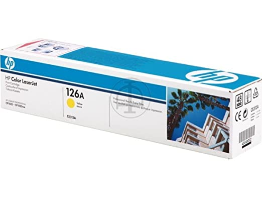 HP - Hewlett Packard LaserJet Pro 100 Color MFP M 175 nw (126A / CE 312 A) - original - Toner yellow - 1.000 Pages