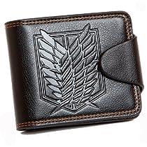CA Sword Art online Kirito Prop Asuna Prop Bi Fold Black Short Wallet