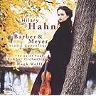 Barber / Meyer : Violon concertos