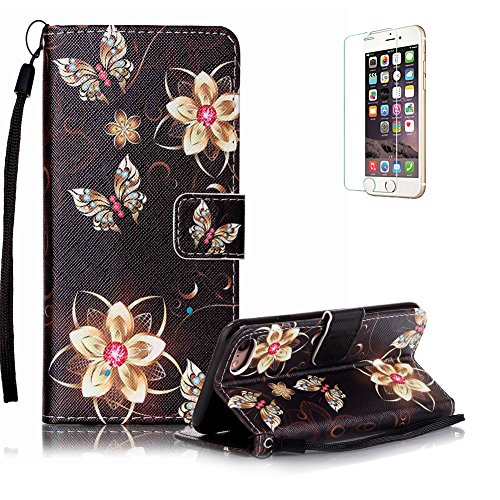 iphone-7-47-portefeuille-magnetique-housse-coqueiphone-7-47-lanyard-strap-corde-coque-dragonne-carry