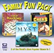 Family Fun Pack 3 Games (Jewel Case)