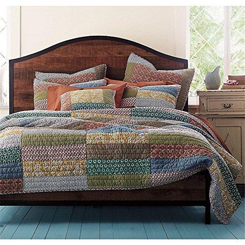 newrara boho bedding collection bohemian real patchwork cotton elegance floral quilt sham. Black Bedroom Furniture Sets. Home Design Ideas