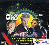 2016 Topps Doctor Who Extraterrestrial Encounters HUGE Factory Sealed Retail Box with 128 Cards! Look for Awesome Autographs & Costume Pieces! Capture the Doctor's Greatest Adventures Across Space!