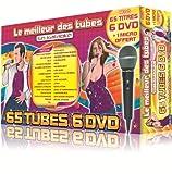 echange, troc Le Meilleur Des Tubes En Karaoké : 2011 Coffret 6 DVD 65 Tubes + 1 Micro