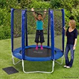 Plum Products 6ft Trampoline and Enclosure - Blue