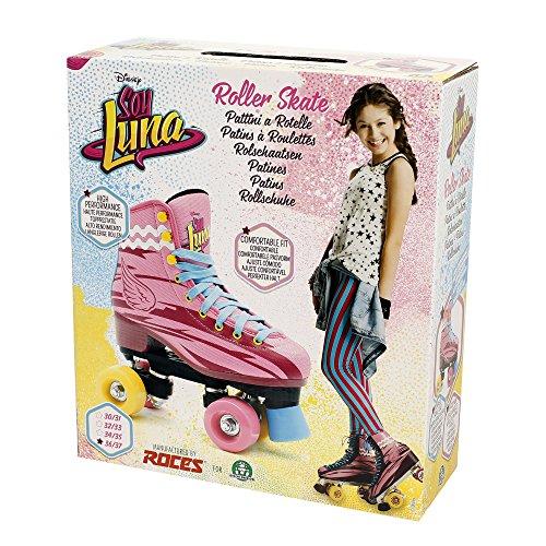 Giochi Preziosi 70032331 Soy Luna Pattini Professionali a rotelle, per Bambina, freno durevole, Taglia 36/37