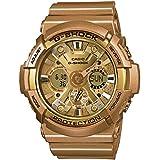 Casio Men's G-Shock GA200GD-9A Gold Rubber Quartz Watch
