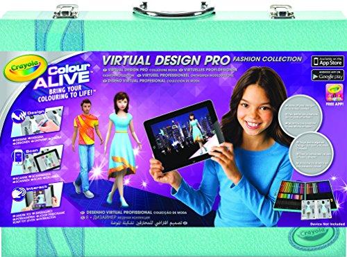 Crayola Virtual Design Pro Fashion Set Toys Games Toys Visual Toys