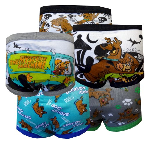 Scooby Doo Boys 5 Pack Briefs For Boys (4) back-934439