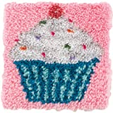 Wonderart Latch Hook Kit 12X12 Cupcake