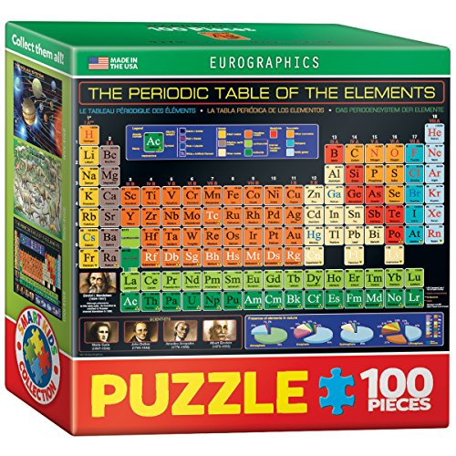 EuroGraphics Periodic Table Mini Puzzle (100-Piece)