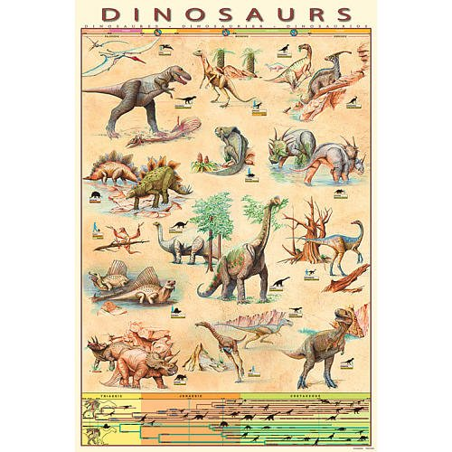 24 X 36 Poster - Dinosaurs