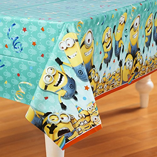 "Best Price! Despicable Me Plastic Tablecloth, 84"" x 54"""