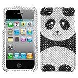 Asmyna IPHONE4HPCDM296NP Luxurious Dazzling Diamante Bling Case for iPhone 4 – 1 Pack – Retail Packaging – Playful Panda Reviews