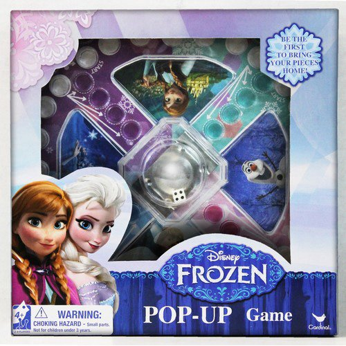 Disney Frozen Pop Up Board Game