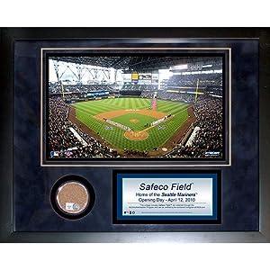 Steiner Sports MLB Seattle Mariners Safeco Field 11 x 14-inch Mini Dirt Collage by Steiner Sports