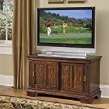 Home Styles 5541-09 Windsor Entertainment Console, Cherry Finish