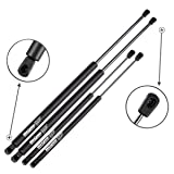 AUTOMUTO 6110 SG325023 SG325028 6607 Lift Supports Gas Struts Shocks Springs Replacement Fit for 2005-2010 Nissan Pathfinder Rear Liftgate and Glass Window