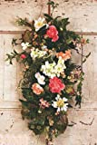Romancing the Door Decorative Teardrop Door Wreath (28 inch)