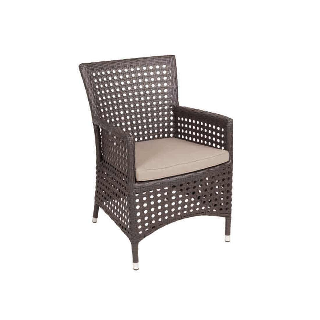 Diamond Garden Sessel Dublin braun online kaufen