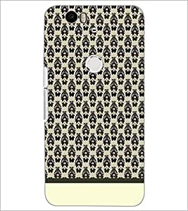 PrintDhaba Pattern D-1922 Back Case Cover for HUAWEI NEXUS 6P (Multi-Coloured)