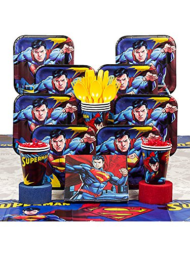Superman Deluxe Kit (Serves 8)