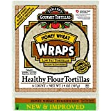 Tumaro's 10-Inch Wraps, Honey Wheat, 6-count 14-Ounce Packages (Pack of 6) ~ Tumaro's