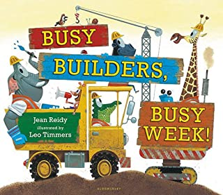 Book Cover: Busy Builders, Busy Week!