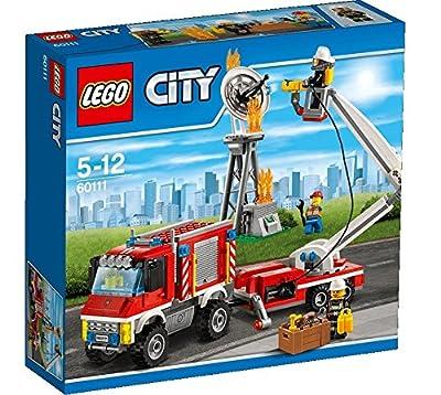 LEGO City 60111 - Feuerwehr-Einsatzfahrzeug