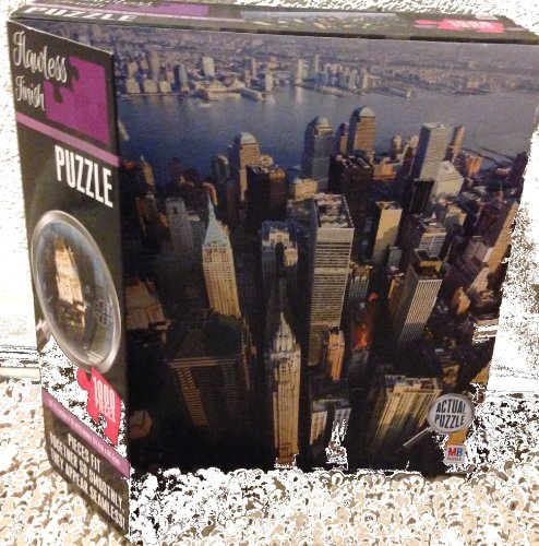 Flawless Finish 1000 Pieces New York City Skyscraper Puzzle - 1