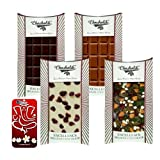 Chocholik Belgium Chocolate Gifts - Classic Collection Of Assorted Belgian Chocolate Bars With 3d Mobile Cover...