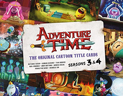 Adventure Time Original Cartoon Title Cards HC 2