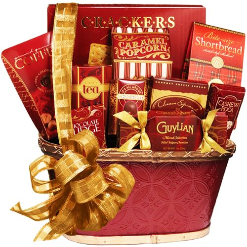 Art of Appreciation Gift Baskets Holiday Greetings Gourmet Food Gift Basket