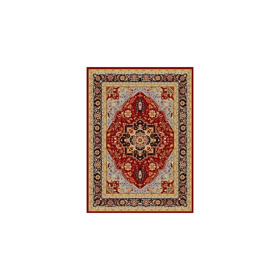Safavieh Lyndhurst Collection LNH330R Traditional Oriental Medallion Ivory and Rust Runner (23 x 8)