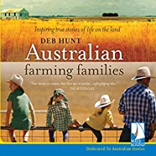 Australian Farming Families Audiobook by Deb Hunt Narrated by Jessica Douglas-Henry