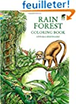 Rain Forest: Coloring Book