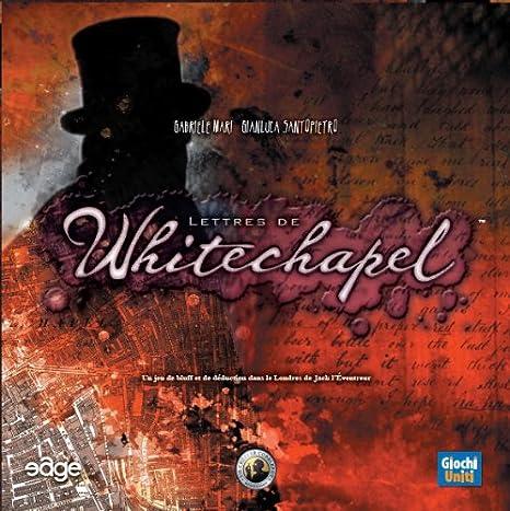 Lettres de Whitechapel (Version Française)