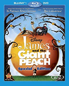 James And The Giant Peach Two-disc Special Edition Blu-raydvd Combo Blu-ray by Walt Disney Studios Home Entertainment