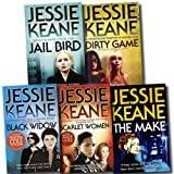 Jessie Keane Collection 5 Books Set (Black Widow, Jail Bird, The Make, Dirty Game, Scarlet Women) Jessie Keane