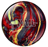 Hammer Nail Smoke and Fire Bowling Ball