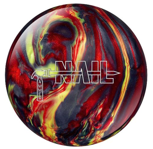 Hammer Nail Smoke and Fire Bowling Ball, 14