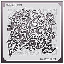 iStencils Repeat Wall Stencil 05-00031  RSC 11 X 11quot