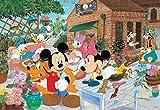 96ピース 子供向けパズル ディズニー みんなでガーデニング こどもジグソーパズル