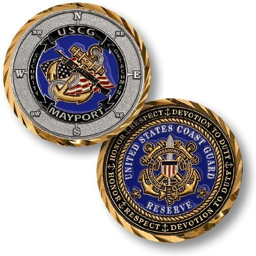 Coast Guard Security Detachment Mayport Challenge Coin - 1