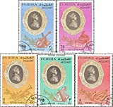 Fujeira 770A-774A (complete.issue.) fine used / cancelled 1971 Wolfgang Amadeus Mozart (Stamps for collectors)