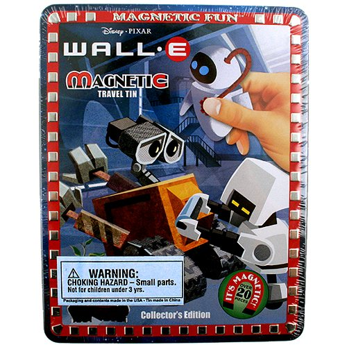 Magnetic Fun - Wall-E Collectors Edition Travel Tin Magnets - 1