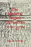 img - for By Alan B. Cobban Mediaeval English Universities: Oxford and Cambridge to c.1500 [Hardcover] book / textbook / text book