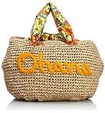 [カシュカシュ] cachecache ハワイロゴ刺繍BIGバッグ 01-00-29791 OR (オレンジ)