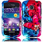 Samsung Hard Design Cover Case Butterfly Bliss For Samsung Galaxy Proclaim S720C Illusion i110