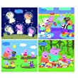 Tomy AquaDraw Mini Mat Peppa Pig Collection 1